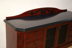 mongolian red hutch stonehenge countertop