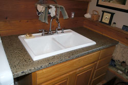 Concrete Laundry Room Countertop